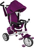 Детский велосипед с ручкой Lorelli Fast / 10050091607 (violet/white) -