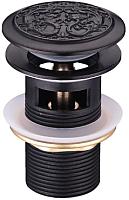 Выпуск (донный клапан) LEMARK Jasmine LM6680ORB (черный) -
