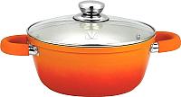 Кастрюля Vitesse Le Silique VS-2289 (оранжевый) -