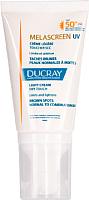 Крем солнцезащитный Ducray Меласкрин легкий УФ 50+ (40мл) -