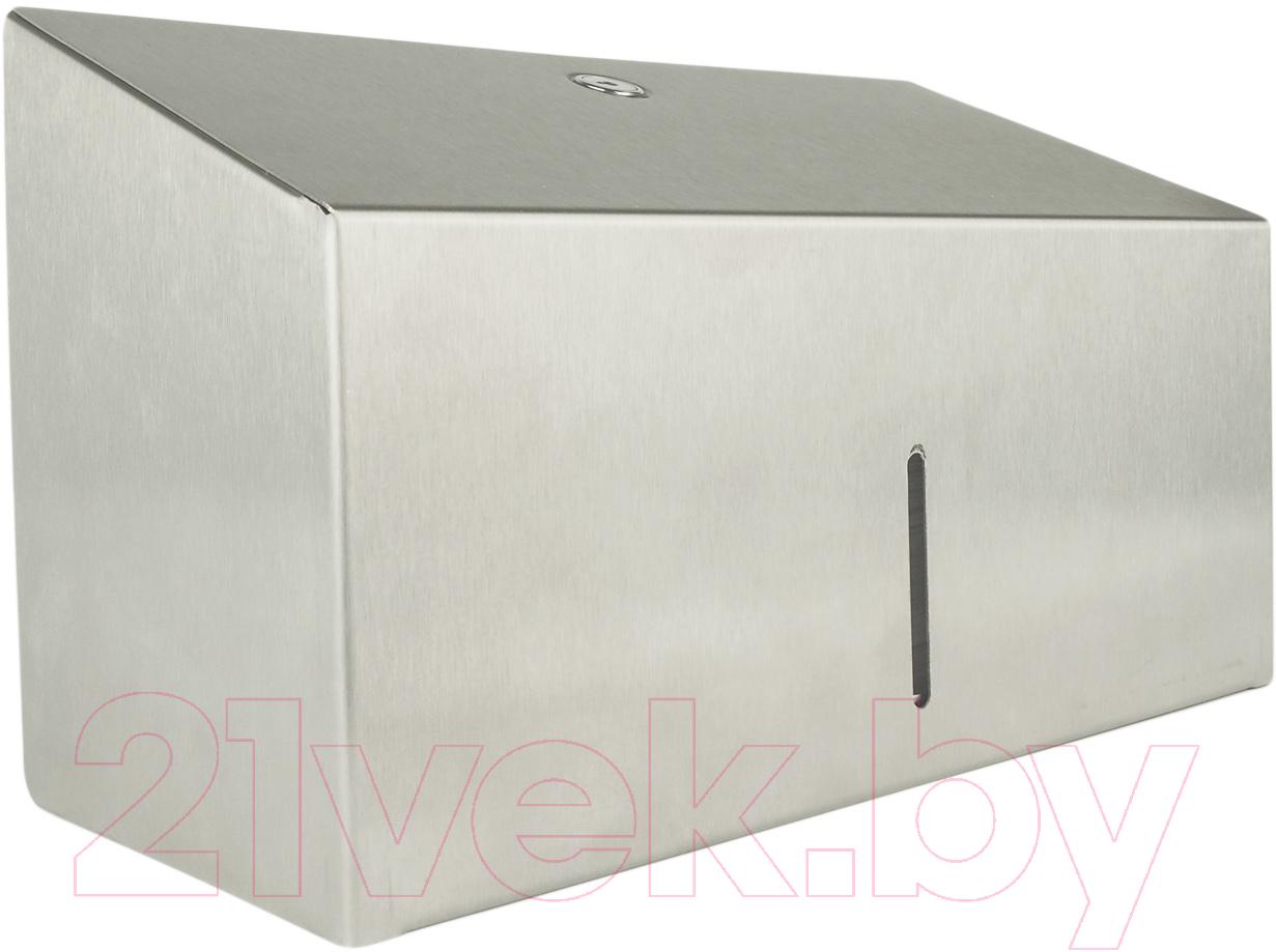 Купить Диспенсер для бумажных полотенец Merida, Stella MINI AEM201.L (металл матовый), Польша, Stella (Merida)