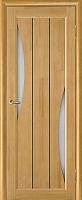 Дверь межкомнатная Юркас Vi-Lario ЧО Вега 4 80x200 (светлый орех) -