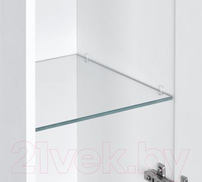 Шкаф с зеркалом для ванной Акватон Мадрид 100 (1A111602MA010)