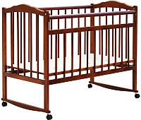 Детская кроватка Bambini М.01.10.09 (светлый орех) -