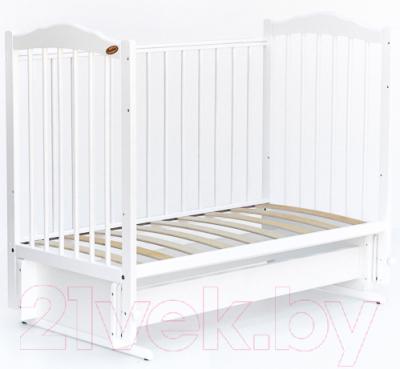 Детская кроватка Bambini М.01.10.11 (белый)