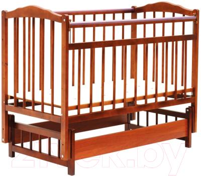 Детская кроватка Bambini М.01.10.11 (светлый орех)
