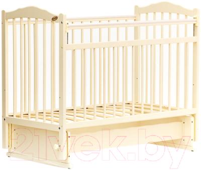 Детская кроватка Bambini М.01.10.11 (слоновая кость)
