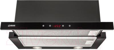 Вытяжка телескопическая Grand Toledo Sensor 60 (черный)