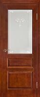 Дверь межкомнатная Юркас ПМЦ № 5 ДО 80x200 (коньяк) -