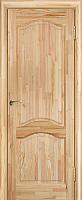 Дверь межкомнатная Юркас ПМЦ № 7 ДГ 80x200 (сосна неокрашенная) -