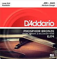 Струны для мандолины D'Addario EJ-74 -