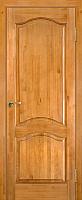 Дверь межкомнатная Юркас ПМЦ № 7 ДГ 90x200 (светлый лак) -