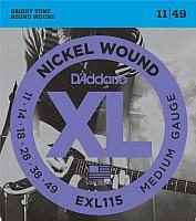 Струны для электрогитары D'Addario EXL-115 -