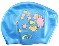 Шапочка для плавания No Brand KW (голубой) -