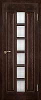 Дверь межкомнатная Юркас ПМЦ № 11 ДО 60x200 (темный лак) -