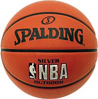 Баскетбольный мяч Spalding NBA Silver 83016Z (размер 7) -