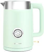 Электрочайник Kitfort KT-659-2 (зеленый) -