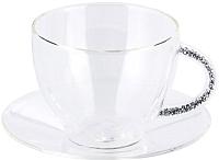 Чашка с блюдцем Home and You Brilliants 47130-SRE-FIL -