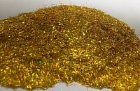 Блестки для жидких обоев Bioplast Люрекс SM50 (10г, золото) -