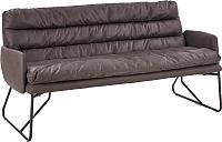 Диван Halmar Fassi XL (темно-серый/черный) -