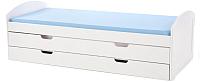 Двухъярусная кровать Halmar Laguna 2 (белый) -