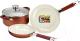 Набор кухонной посуды Vitesse VS-2238 (красный) -