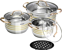 Набор кухонной посуды Vitesse VS-2081 -
