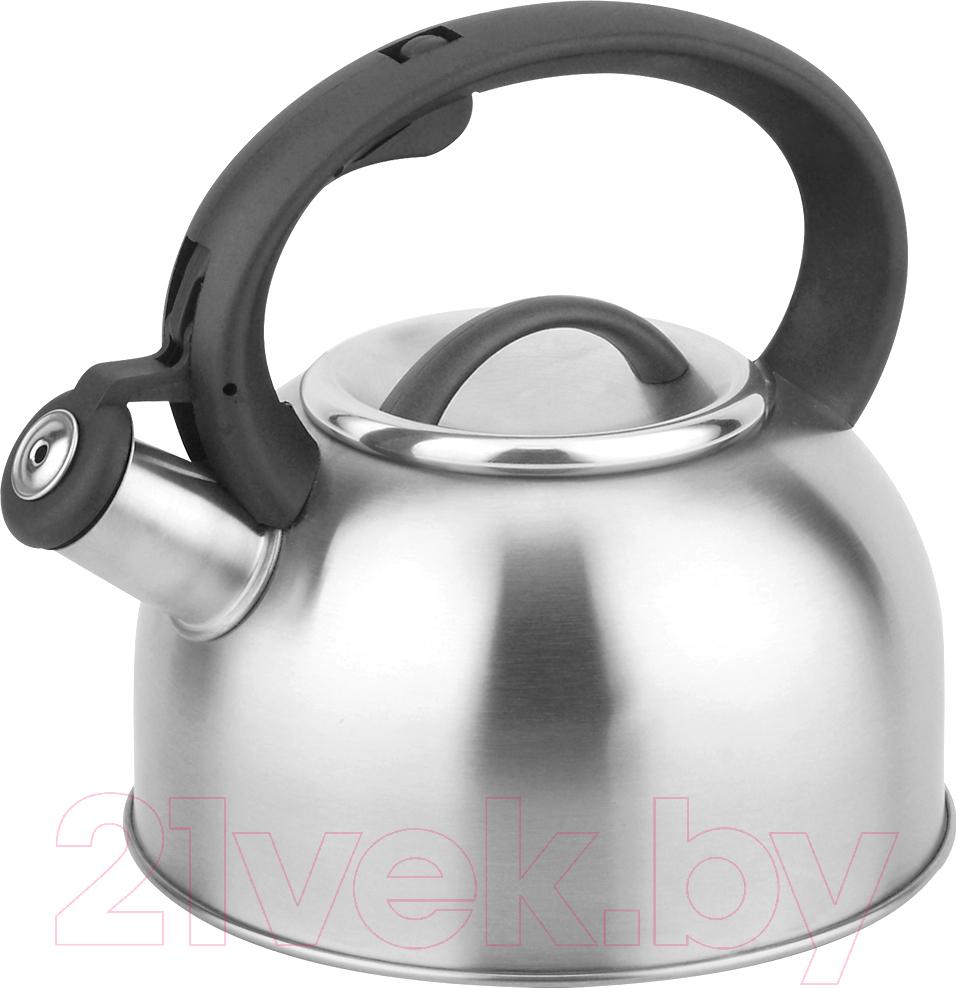 Купить Чайник со свистком Aurora, AU615, Китай, нержавеющая сталь
