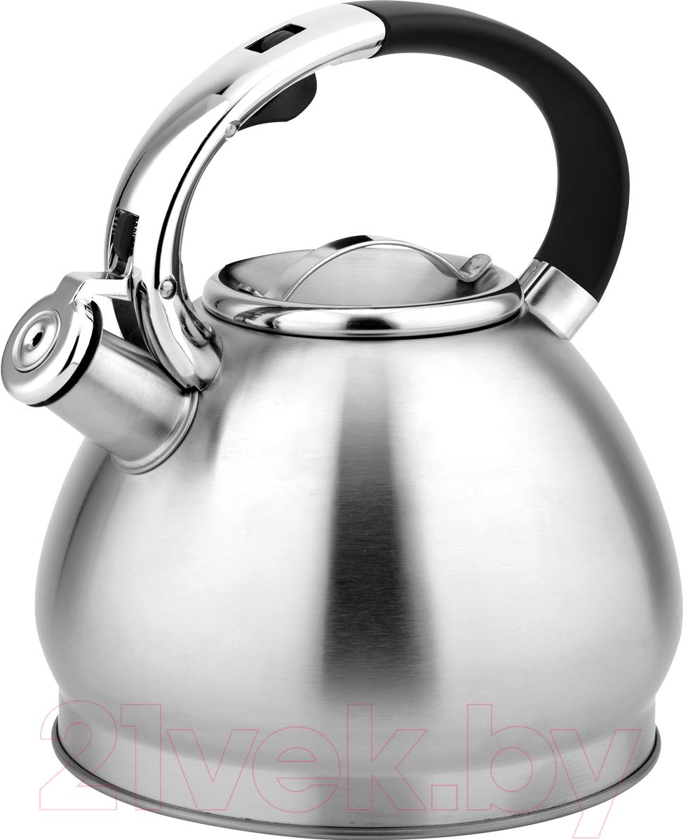 Купить Чайник со свистком Aurora, AU614, Китай, нержавеющая сталь