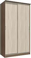 Шкаф Интерлиния Неаполь АН-011-12-00 (БФ) (ясень шимо светлый/ясень шимо темный) -