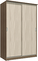 Шкаф Интерлиния Неаполь АН-011-14-00 (БФ) (ясень шимо светлый/ясень шимо темный) -