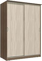 Шкаф Интерлиния Неаполь АН-011-16-00 (БФ) (ясень шимо светлый/ясень шимо темный) -