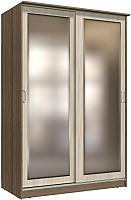 Шкаф Интерлиния Неаполь АН-011-15-02 (БФ) (ясень шимо светлый/ясень шимо темный) -