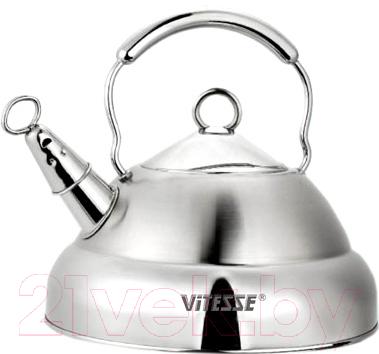 Купить Чайник со свистком Vitesse, VS-1102, Китай, нержавеющая сталь