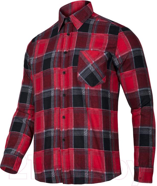 Купить Рубашка рабочая Lahti Pro, Мужская байковая / LPKF12XL, Польша, лето