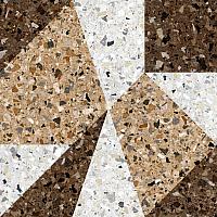 Декоративная плитка Керамин Терраццо 3Д (500x500) -