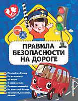 Развивающая книга Эксмо Правила безопасности на дороге (Василюк Ю.) -