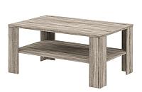 Журнальный столик Мебель-Неман Кристалл МН-131-10 (дуб сонома/трюфель) -
