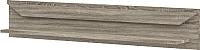 Полка Мебель-Неман Кристалл МН-131-09 (дуб сонома/трюфель) -