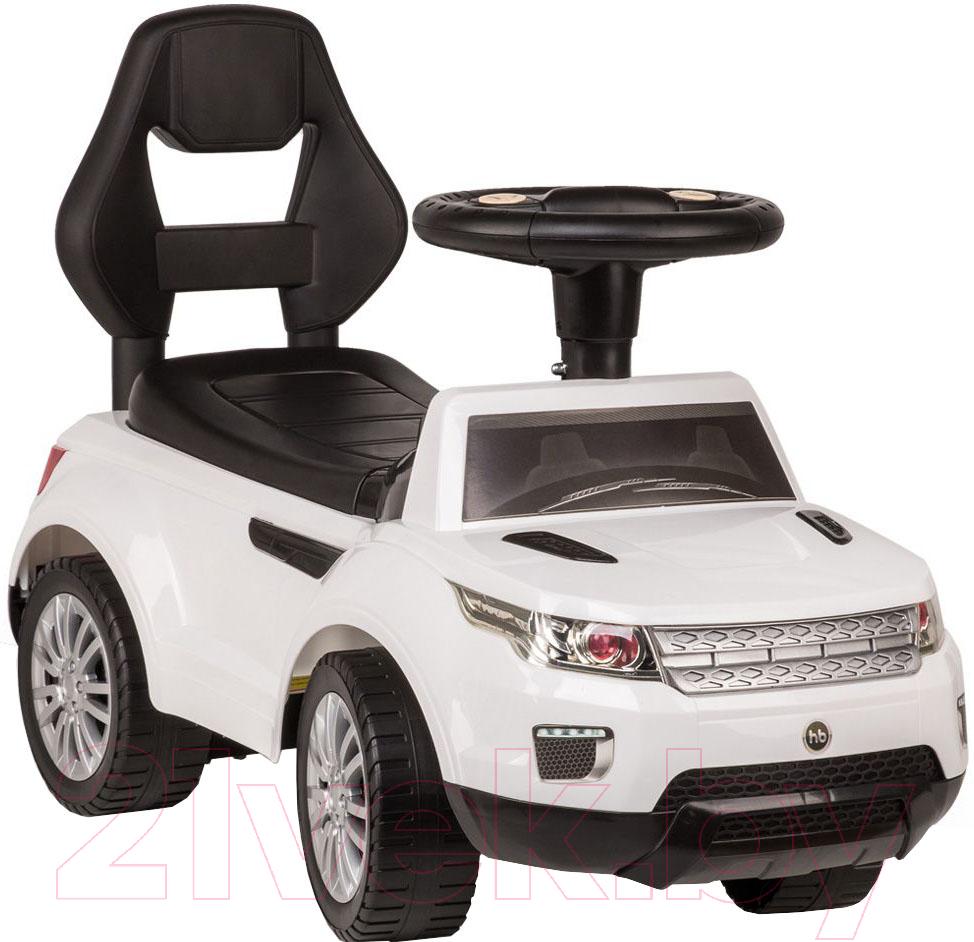 Купить Каталка детская Happy Baby, Jeeppy 50013 (белый), Китай, пластик
