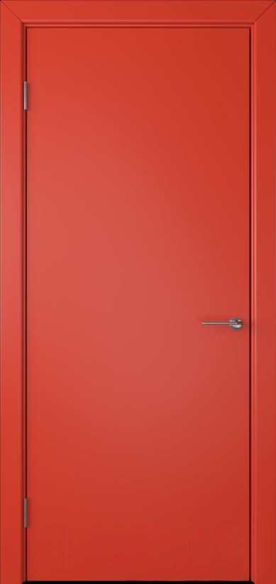 Купить Дверь межкомнатная Юркас, Colorit К6 ДГ 80x200 (красный), Беларусь