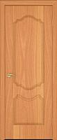Дверь межкомнатная Юркас ПВХ Стандарт ПГ Орхидея 80x200 (миланский орех) -