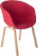 Стул Mio Tesoro Итри SC-256F (красный) -