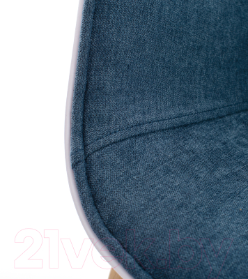 Стул Mio Tesoro Итри SC-256F (темно-синий/белый)