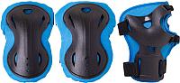 Комплект защиты Ridex Rapid (S, голубой) -