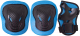 Комплект защиты Ridex Robin (L, голубой) -