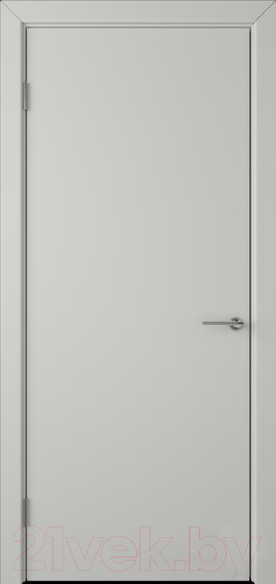 Купить Дверь межкомнатная Юркас, Colorit К6 ДГ 70x200 (светло-серый), Беларусь