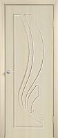 Дверь межкомнатная Юркас ПВХ Стандарт ПГ Лиана 80x200 (беленый дуб) -