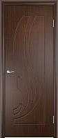 Дверь межкомнатная Юркас ПВХ Стандарт ПГ Лиана 70x200 (венге) -