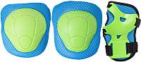 Комплект защиты Ridex Zippy (M, синий) -